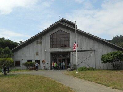 Bear Valley Visitors Center at Point Reyes National Seashore