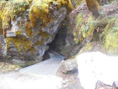 Oregon Caves National Monument entrance