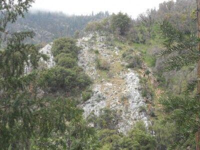 Marble Ridge near Crystal Cave
