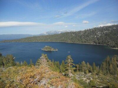 Emerald Bay at Lake Tahoe from Vikingsholm
