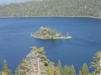 Fannette Island in Emerald Bay State Park