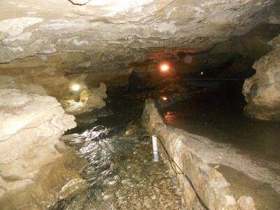 River at Watson's Grotto Oregon Caves