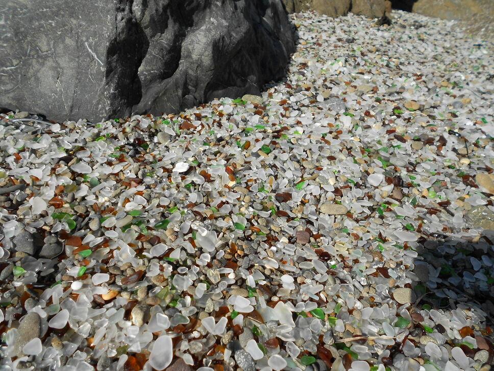 Sea Glass Beach Fort Bragg California