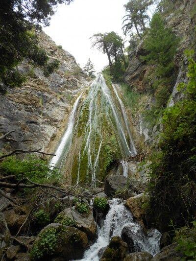 Limekiln Falls at Limekiln State Park California