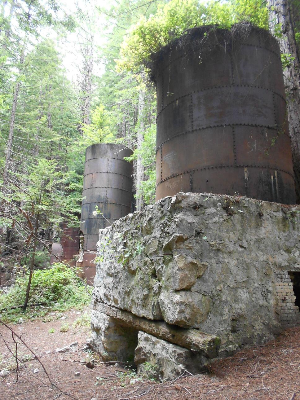 National Parks Blog: Lime Kilns Limekiln State Park California