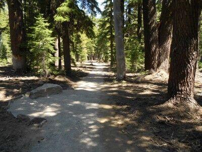 Plaikni Falls Trail at Crater Lake National Park