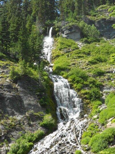 Vidae Falls at Crater Lake National Park