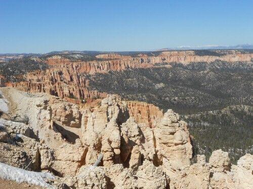 Rainbow Point Bryce Canyon