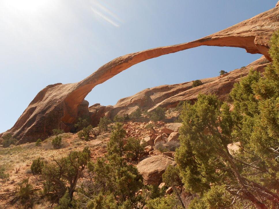 Landscape Arch Devils Garden Arches National Park – National Parks