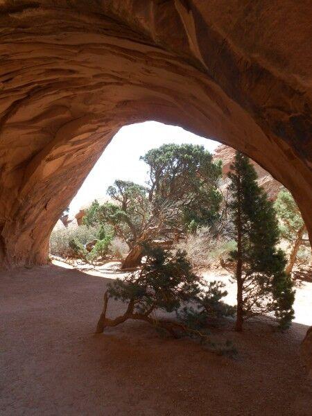 Navajo Arch backside