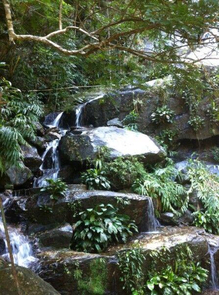 Rio Corcovado Waterfall Brazil