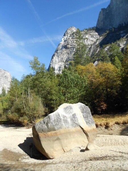 Yosemite Mirror Lake dry