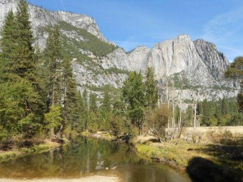 missing Yosemite falls