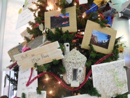 John Muir trail national parks Christmas tree
