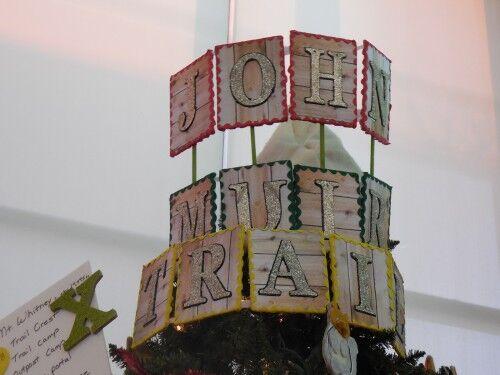 National Parks John Muir Christmas tree crown